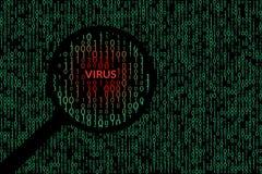 αφηρημένη τεχνολογία ανα&sigm binary code computer Απεικόνιση αποθεμάτων