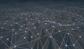 Αφηρημένη τεχνολογία επιστήμης υποβάθρου Στοκ εικόνα με δικαίωμα ελεύθερης χρήσης