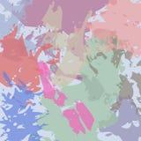 Αφηρημένη τυπωμένη ύλη watercolor Στοκ εικόνες με δικαίωμα ελεύθερης χρήσης