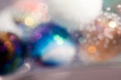 Αφηρημένη υποβρύχια σύνθεση με τις ζωηρόχρωμες σφαίρες γυαλιού Στοκ εικόνα με δικαίωμα ελεύθερης χρήσης
