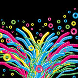 αφηρημένη φανταστική floral χλόη &alpha Στοκ φωτογραφία με δικαίωμα ελεύθερης χρήσης