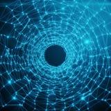 Αφηρημένη φουτουριστική στρέβλωση σηράγγων ταχύτητας αφηρημένο φουτουριστικό υπόβαθρο επιστημονικής φαντασίας abstract background Στοκ εικόνες με δικαίωμα ελεύθερης χρήσης