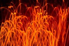 Αφηρημένη φλόγα πυρκαγιάς Στοκ Φωτογραφίες