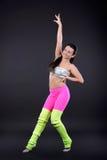 αφηρημένη χορεύοντας illustration inc γυναίκα Στοκ εικόνες με δικαίωμα ελεύθερης χρήσης