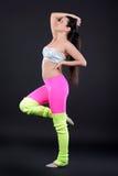 αφηρημένη χορεύοντας illustration inc γυναίκα Στοκ Εικόνες