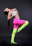 αφηρημένη χορεύοντας illustration inc γυναίκα Στοκ εικόνα με δικαίωμα ελεύθερης χρήσης