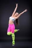 αφηρημένη χορεύοντας illustration inc γυναίκα Στοκ Φωτογραφία