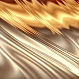 Αφηρημένη χρυσή σύνθεση Στοκ εικόνα με δικαίωμα ελεύθερης χρήσης