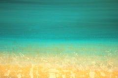 Αφηρημένη χρωματισμένη χέρι τέχνη υποβάθρου ιμπρεσσιονιστών διανυσματική απεικόνιση