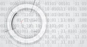 Αφηρημένη ψηφιακή επιγραφή ιστοχώρου Ανασκόπηση εμβλημάτων Στοκ Εικόνα