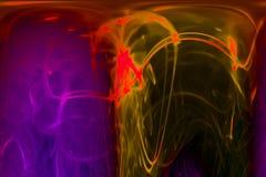 Αφηρημένη ψηφιακή fractal μοναδική μαγική υπερφυσική φαντασία ύφους καμπυλών μαγική, δυναμικός, σχέδιο επικαλύψεων φουτουριστικό απεικόνιση αποθεμάτων