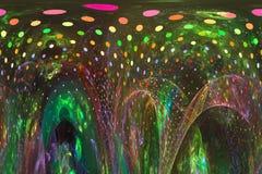 Αφηρημένη ψηφιακή fractal υπερφυσική φαντασία μαγική, δυναμικός, σχέδιο επικαλύψεων φουτουριστικό απεικόνιση αποθεμάτων