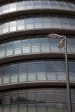αφηρημένη όψη αιθουσών πόλε&om Στοκ Εικόνα