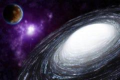 αφηρημένη διαστημική σπείρ&alpha Στοκ φωτογραφία με δικαίωμα ελεύθερης χρήσης