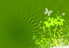 αφηρημένη floral απεικόνιση διανυσματική απεικόνιση