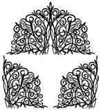 αφηρημένη floral διακόσμηση Στοκ Εικόνες