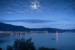 αφηρημένη fractal νύχτα σεληνόφωτου εικόνας Στοκ εικόνες με δικαίωμα ελεύθερης χρήσης