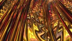 Αφηρημένη fractal σήραγγα ελεύθερη απεικόνιση δικαιώματος