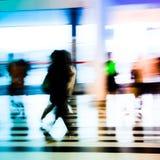 αφηρημένοι άνθρωποι επιχειρησιακών πόλεων Στοκ φωτογραφία με δικαίωμα ελεύθερης χρήσης