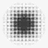 Αφηρημένοι ημίτονί κύκλοι, ημίτονο σχέδιο σημείων Επίπεδη καθιερώνουσα τη μόδα διανυσματική απεικόνιση απεικόνιση αποθεμάτων