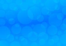 αφηρημένοι μπλε κύκλοι αν&a Στοκ Φωτογραφία