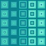 αφηρημένοι μπλε κύβοι Στοκ φωτογραφία με δικαίωμα ελεύθερης χρήσης
