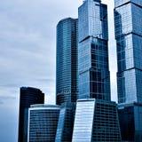 Αφηρημένοι ουρανοξύστες οικοδόμησης Στοκ εικόνα με δικαίωμα ελεύθερης χρήσης