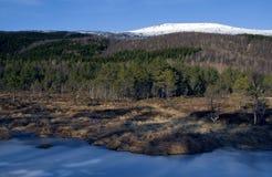Αφηρημένοι πάγος και ουρανός Στοκ φωτογραφία με δικαίωμα ελεύθερης χρήσης