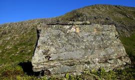 Αφηρημένοι πέτρα και ουρανός Στοκ Φωτογραφίες