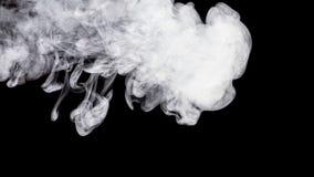 Αφηρημένος άσπρος καπνός Weipa Στοκ Εικόνες
