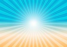 αφηρημένος ήλιος ακτίνων π&al απεικόνιση αποθεμάτων