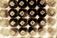 Αφηρημένος δίσκος εγγράφου αυγών Στοκ Εικόνες
