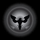 αφηρημένος αετός σχεδίο&upsilo Στοκ Εικόνες