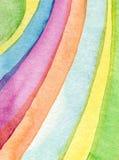 Αφηρημένος ακρυλικός, χρωματισμένο watercolor υπόβαθρο Στοκ εικόνες με δικαίωμα ελεύθερης χρήσης