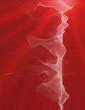 αφηρημένος ανοικτό κόκκιν&omi Στοκ Φωτογραφία
