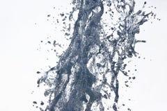 Αφηρημένος αριθμός μιας πηγής νερού Στοκ Εικόνες