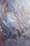 Αφηρημένος αριθμός πάγου Στοκ φωτογραφία με δικαίωμα ελεύθερης χρήσης