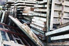 αφηρημένος βαρύς μεταλλικός κατασκευών Στοκ φωτογραφία με δικαίωμα ελεύθερης χρήσης