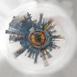 Αφηρημένος βιομηχανικός κόσμος Εικόνα χρώματος Στοκ εικόνες με δικαίωμα ελεύθερης χρήσης