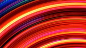 Αφηρημένος βρόχος ελαφριών ραβδώσεων ουράνιων τόξων απεικόνιση αποθεμάτων