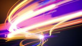Αφηρημένος βρόχος κυκλοφορίας νύχτας απεικόνιση αποθεμάτων