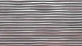 Αφηρημένος γεωμετρικός βρόχος κυμάτων - τρισδιάστατη ζωτικότητα διανυσματική απεικόνιση