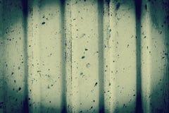 Αφηρημένος γραπτός ζαρωμένος ψευδάργυρος, σύσταση μετάλλων σιδήρου Στοκ Εικόνα