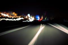 αφηρημένος δρόμος Στοκ Φωτογραφίες