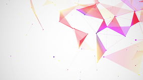 αφηρημένος ζωηρόχρωμος γεωμετρικός ανασκόπησης απεικόνιση αποθεμάτων