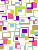 αφηρημένος ζωηρόχρωμος γεωμετρικός Στοκ φωτογραφίες με δικαίωμα ελεύθερης χρήσης
