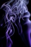 Αφηρημένος ζωηρόχρωμος ψηφιακός καπνός στο μαύρο υπόβαθρο καλλιτεχνικό Στοκ φωτογραφίες με δικαίωμα ελεύθερης χρήσης