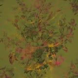 αφηρημένος ζωηρόχρωμος floral &alpha Στοκ εικόνες με δικαίωμα ελεύθερης χρήσης