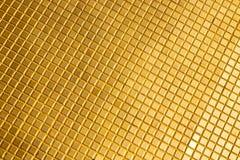 Αφηρημένος διαγώνιος χρυσός μετάλλων στο ναό Μπανγκόκ Στοκ φωτογραφία με δικαίωμα ελεύθερης χρήσης