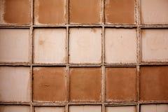 Αφηρημένος διαστημικός, ελεγχμένος τοίχος πόλεων στοκ φωτογραφία με δικαίωμα ελεύθερης χρήσης